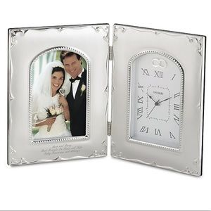 Thing Remembered 4 x 6 Forever Yours Frame Clock